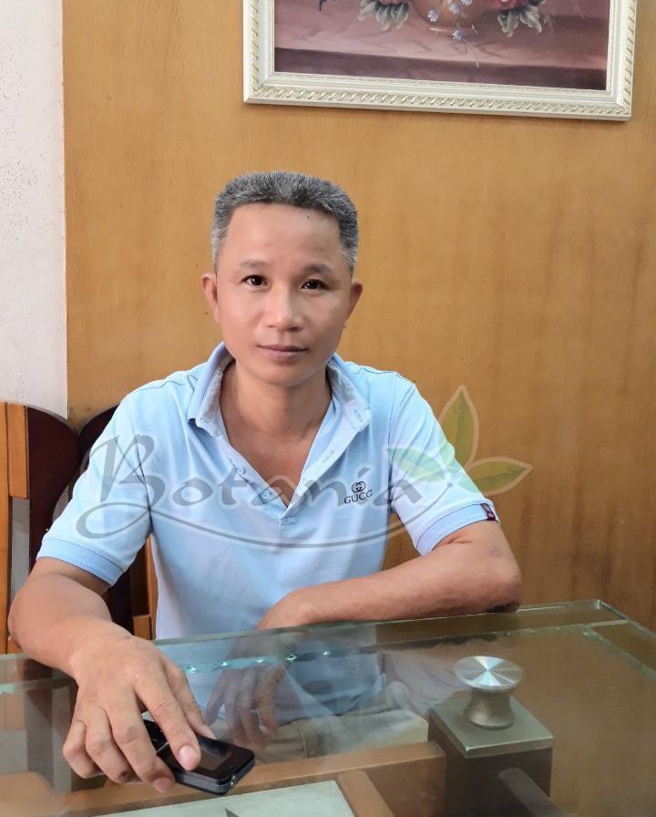 Chú Nguyễn Đình Tư ( 50 tuổi) , thôn Quảng Tái, xã Chung Tú, Ứng Hòa, Hà Nội