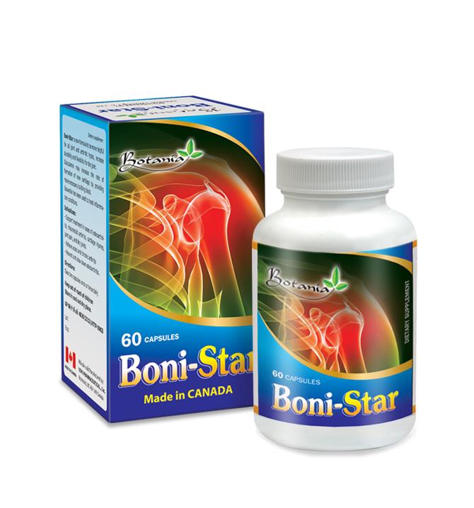 BoniStar hỗ trợ điều trị viêm khớp, thoái hóa khớp